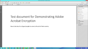 Adobe Acrobat Tools